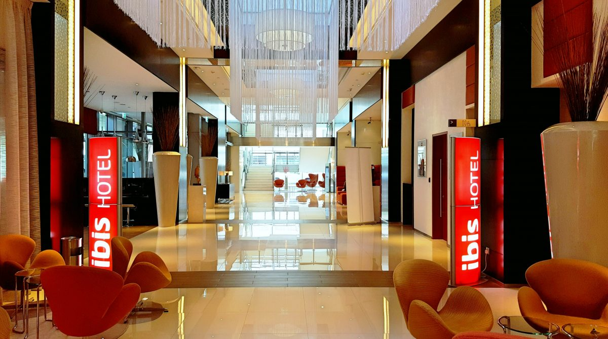 Ibis One Central lobby