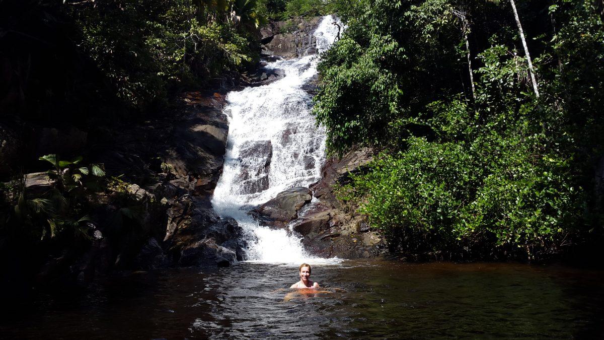 Sauzier Waterfall Seychelles Mahe
