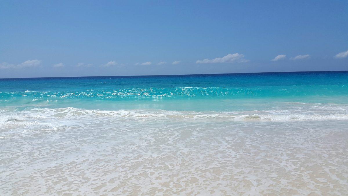 Mahe beach Seychelles