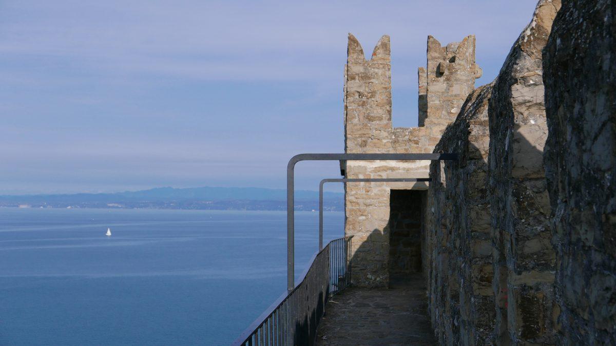 slovene coast piran wall